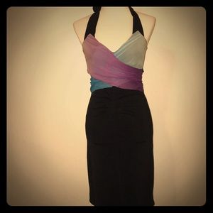 Vintage Christopher Deane Sexy Ruched Dress